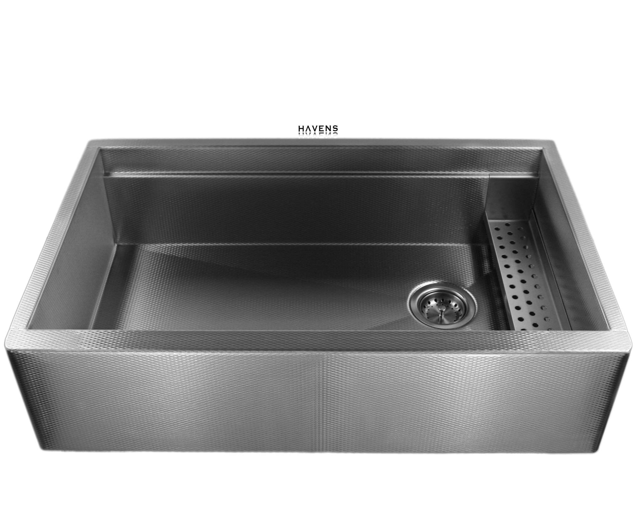 Legacy Stainless steel sink w/ sponge caddy