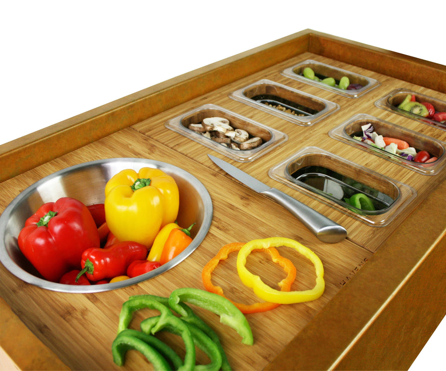 Accessory - Six Container Serving Board