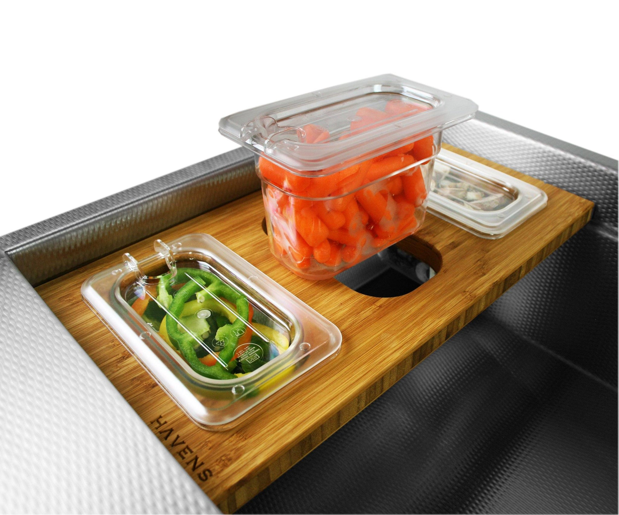 Accessory - Triple Container Serving Board