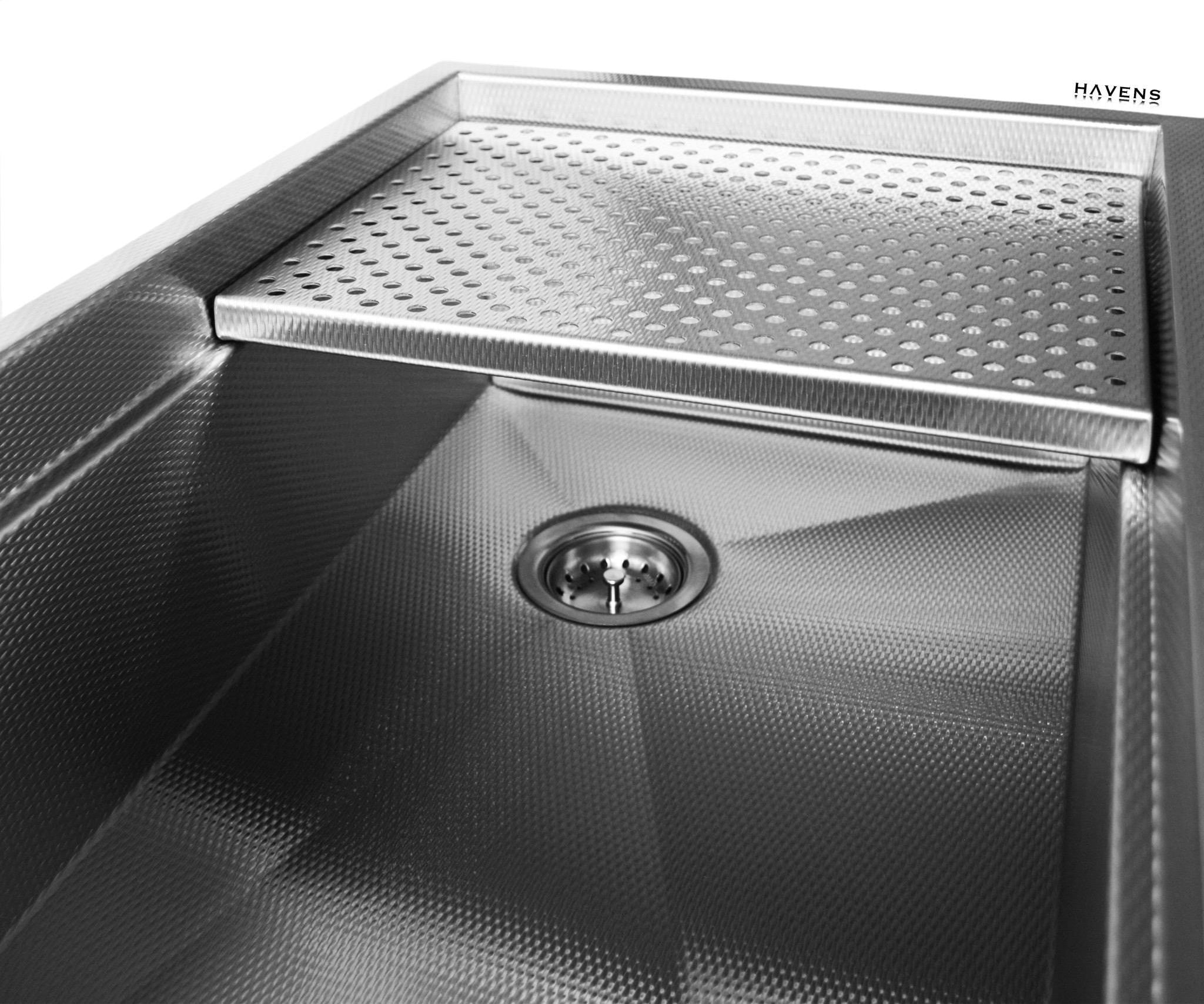 Stainless steel Legacy sink