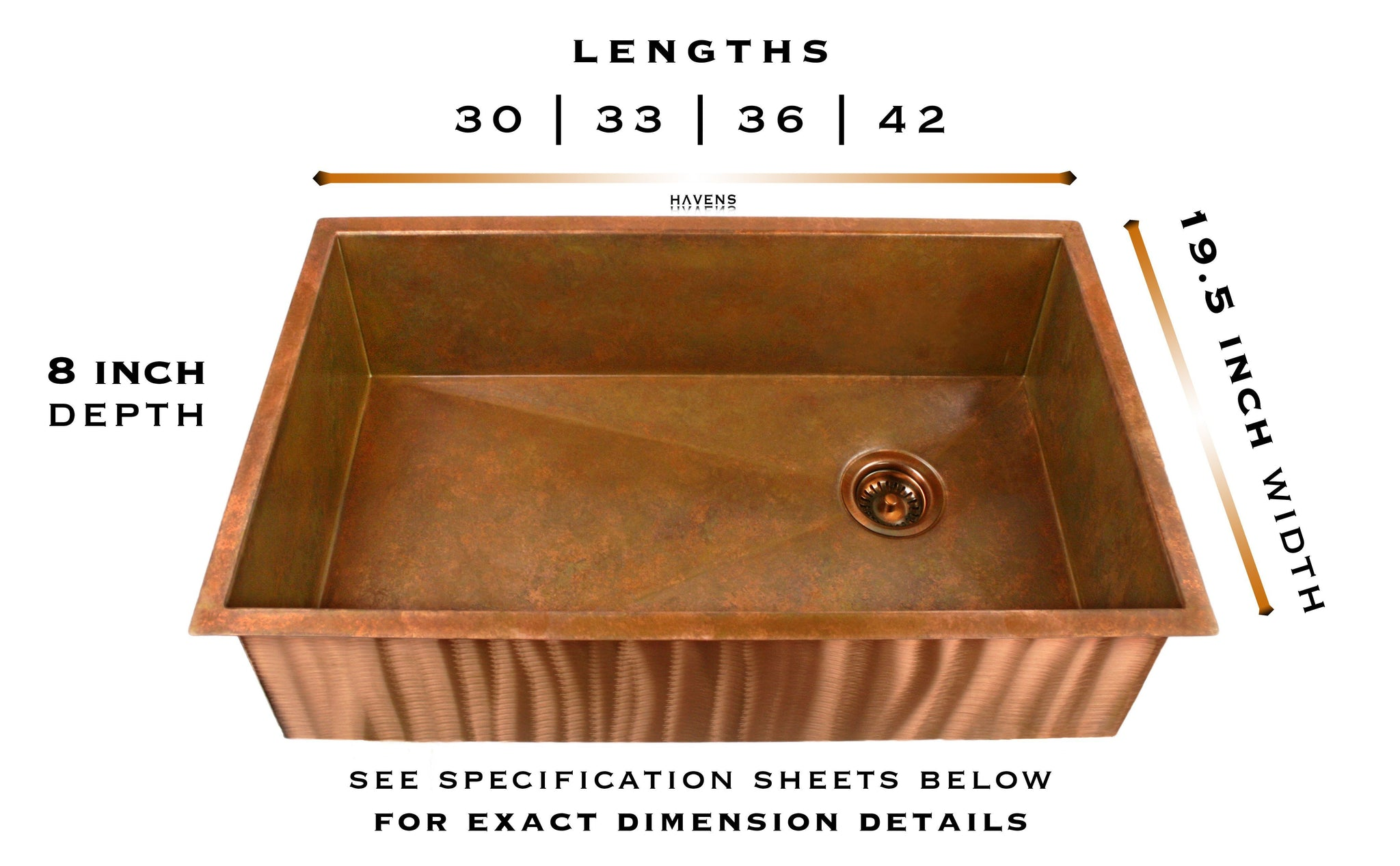 Heritage - Heritage Copper Sink