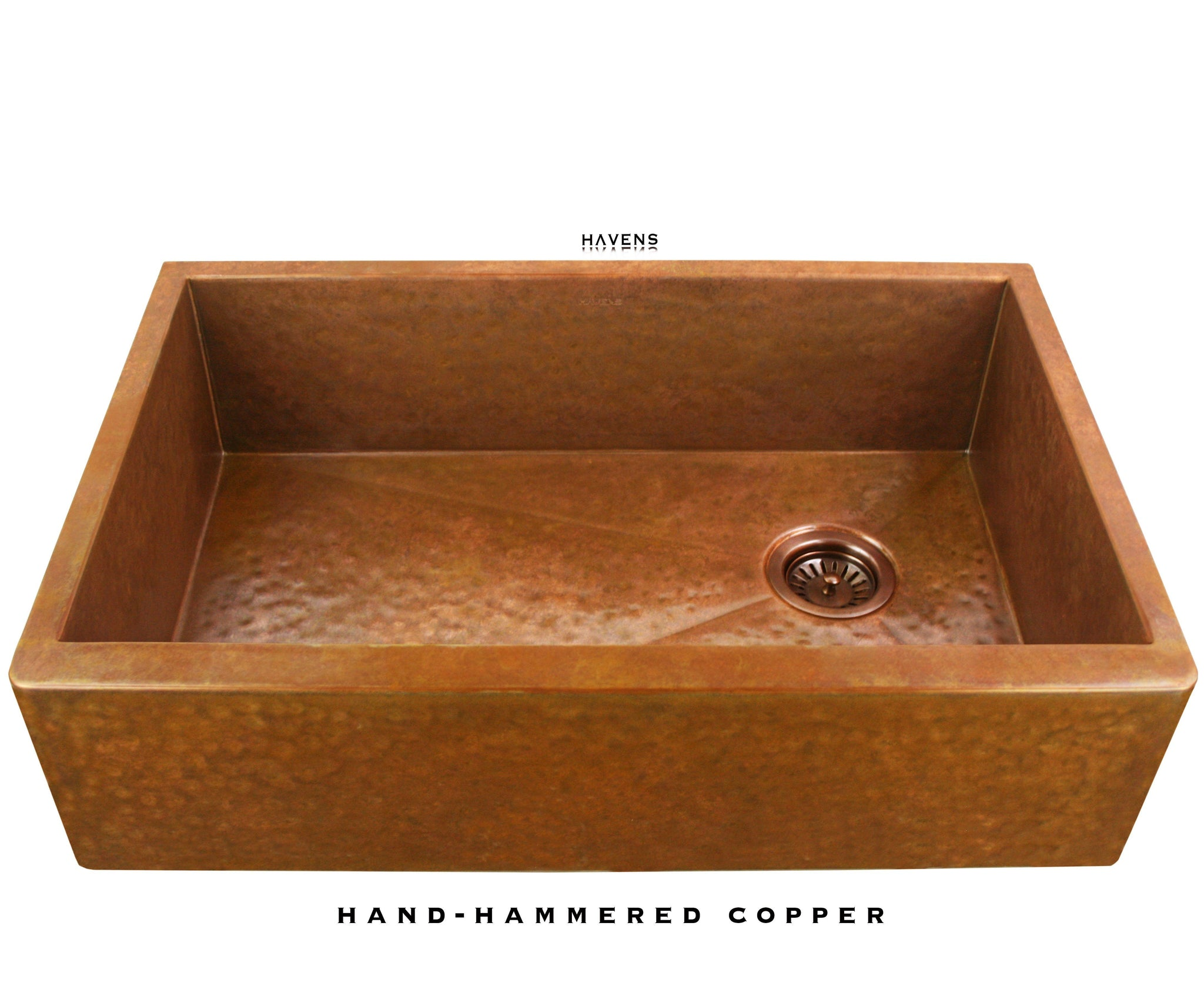 Heritage - Heritage Farmhouse Sink - Hammered Copper