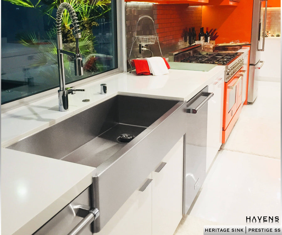 Heritage - Heritage Farmhouse Sink - Prestige Stainless