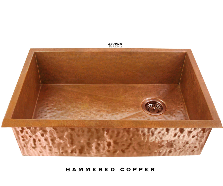 Heritage - Heritage Sink - Hammered Copper