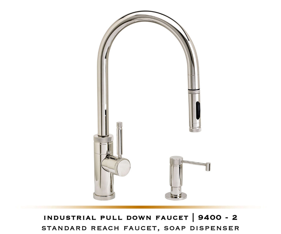 PLP Pulldown Waterstone Faucet | Industrial 9300 / 9400