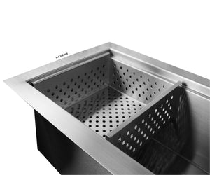 Eclipse dual tier strainer