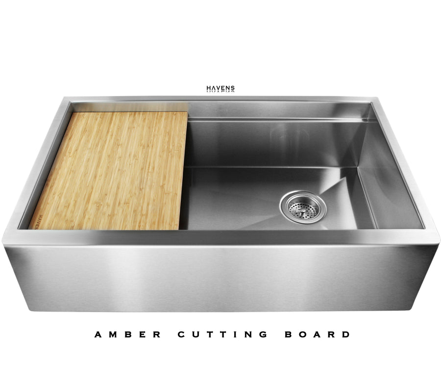 Legacy - Legacy Brushed Stainless Steel Farmhouse Sink - Undermount