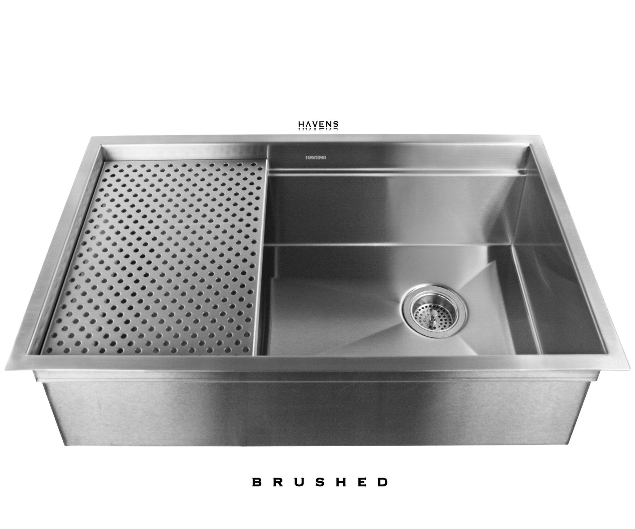 Legacy Undermount Sink - Brushed Stainless