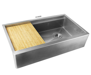 Legacy - Legacy Matte Stainless Steel Farmhouse Sink - Undermount
