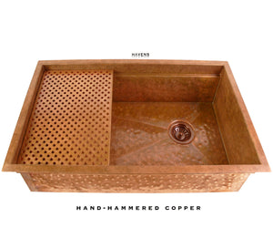 Legacy - Legacy Sink - Hammered Copper