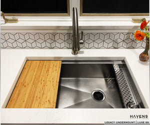 Legacy Undermount Sink  - Luxe Stainless