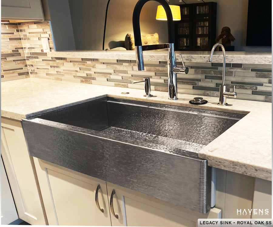 Legacy Farmhouse Sink - Royal Oak Stainless