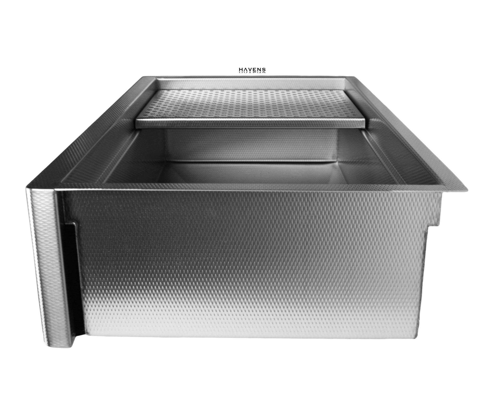 Apron front stainless steel Legacy sink