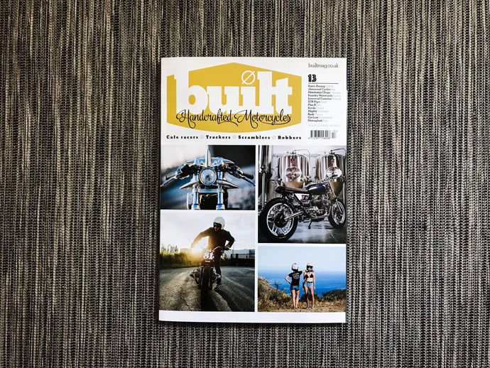 Moto Guzzi V65 feature in Built Magazine Issue #13