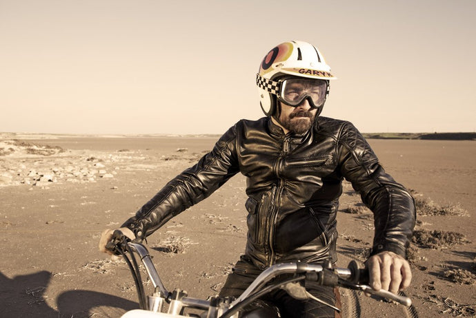 "Fuel Motorcycles x Helstons® ""Dirt Track"" Jacket"