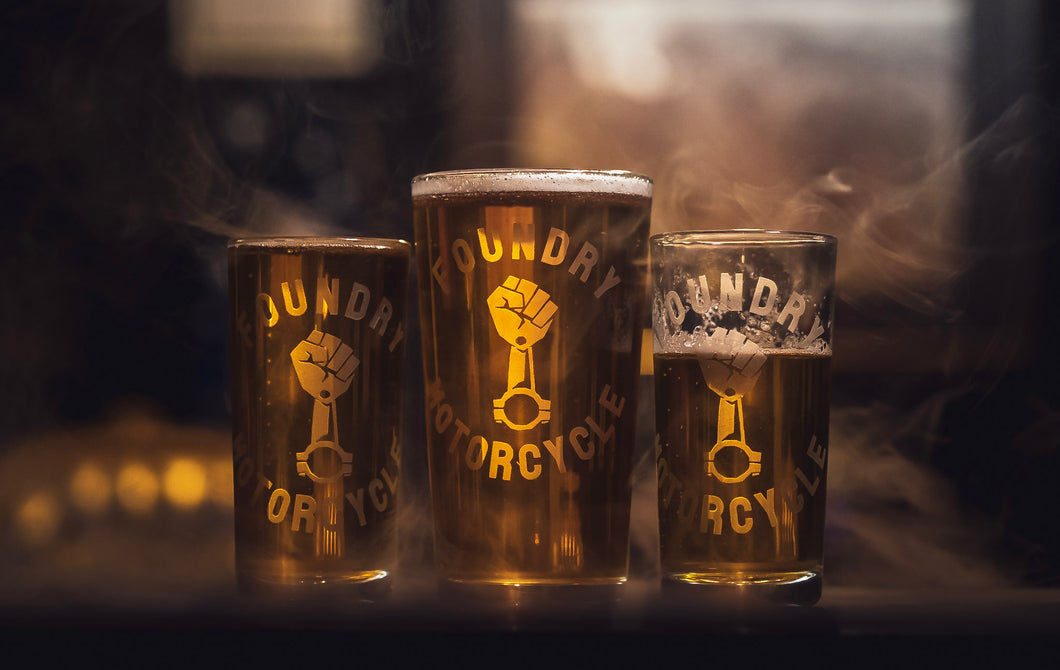 Foundry Pint Glass