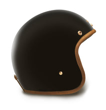 Hedon Hedonist open face motorcycle helmet Stable Black
