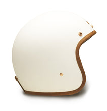 Hedon Hedonist open face motorcycle helmet Staple White matt White