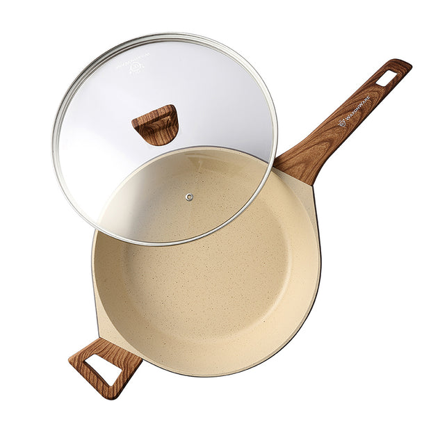 "Marbellous 11"" Saute Pan with Lid"