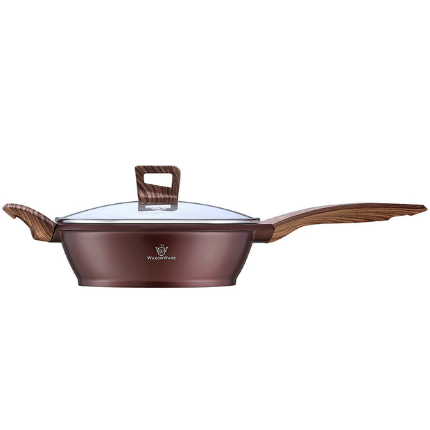 "Marbellous 9.5"" Saute Pan with Lid"
