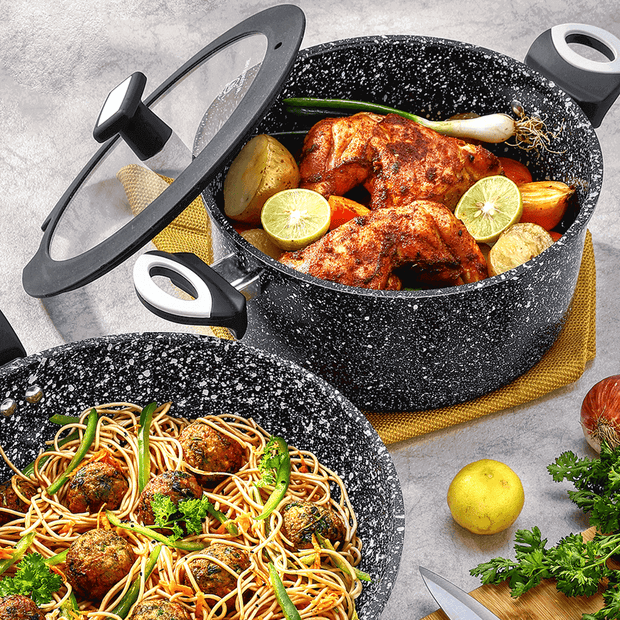 "Stonetec 11"" Non-Stick Wok & Stir Frying Pan"