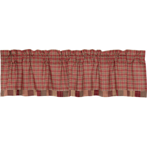 The Star Patch Red Curtain Collection