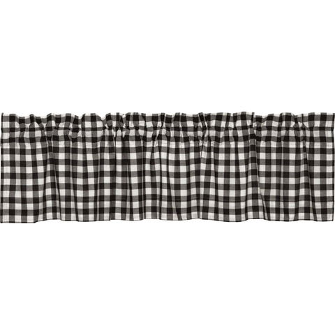 The Buffalo Black Check Curtain Collection