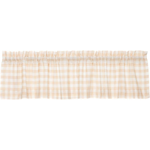The Annie Buffalo Check Tan Curtain Collection