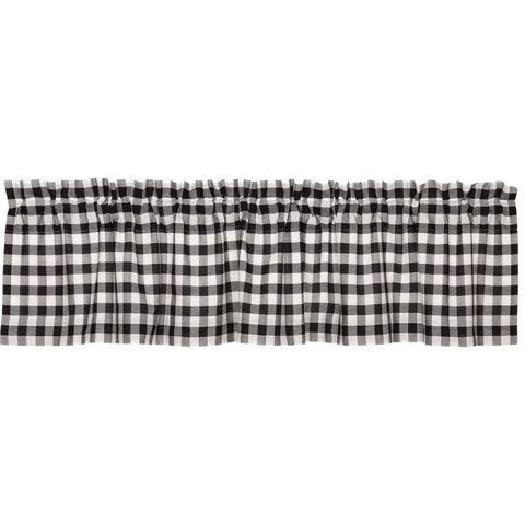 The Annie Buffalo Check Black Curtain Collection