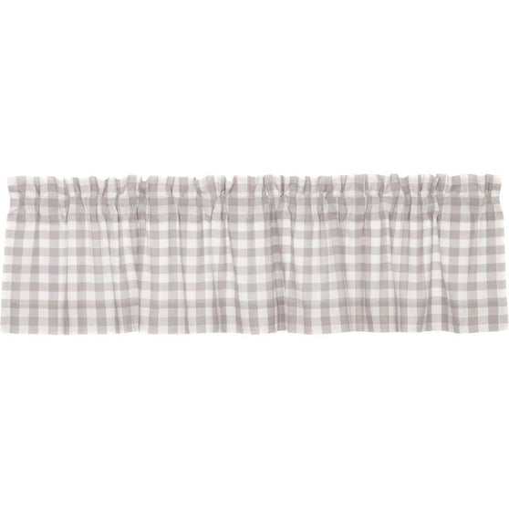 The Annie Buffalo Check Grey Curtain Collection
