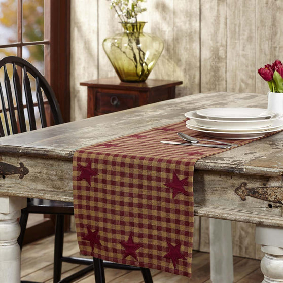 The Burgundy Star Tabletop Collection
