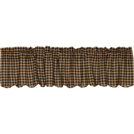 The Navy Check Curtain Collection