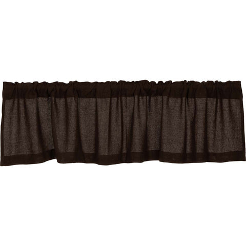 The Burlap Chocolate Curtain Collection