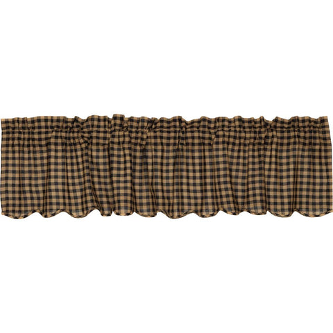 The Black Check Curtain Collection