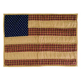 Patriotic Patch Quilted Placemat Set