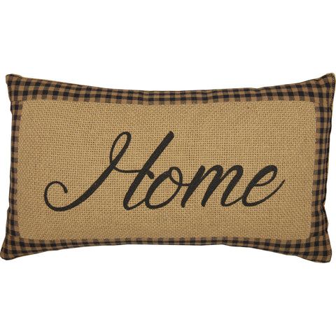 Farmhouse Star Home Pillow 7 x 13""