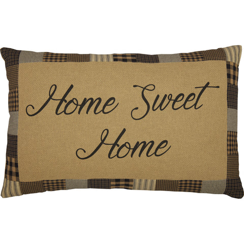 Farmhouse Star Home Sweet Home Pillow 14 x 22""