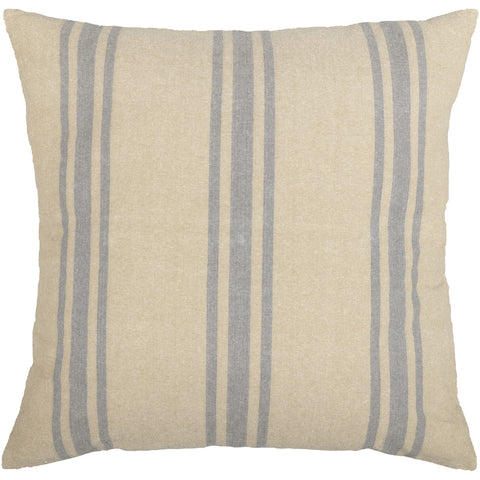 Farmer's Market Grain Sack Stripe Fabric Euro Sham Set of 2 26x26