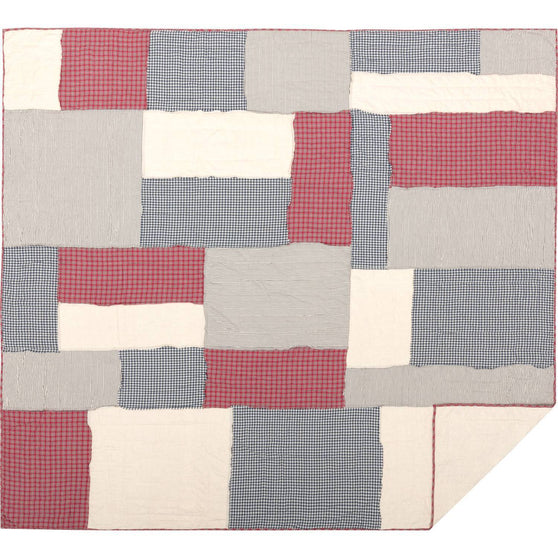 VHC-Brands-April-Olive-Americana-Bedding-Hatteras-Quilt-King-Americana-Red-Cotton-White-Denim-Blue