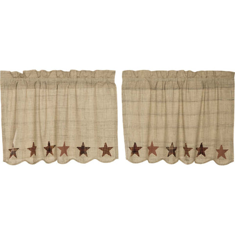 VHC-Brands-Mayflower-Market-Classic-Country-Window-Abilene-Star-Tier-24x36-Tan-Burgundy-Dark-Brown