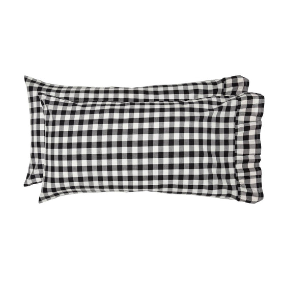 VHC-Brands-April-Olive-Farmhouse-Bedding-Annie-Buffalo-Check-Pillow-Case-King-Country-Black-Soft-White