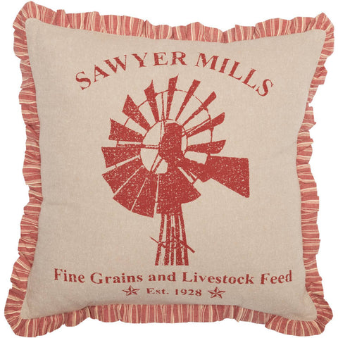 VHC-Brands-April-Olive-Farmhouse-Pillows-Throws-Sawyer-Mill-Red-Pillow-Filled-Fabric-18x18-Country-Red-Khaki-Creme