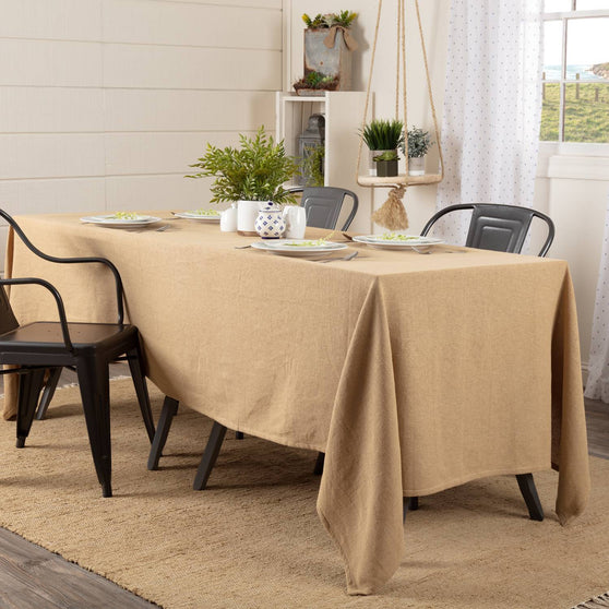 VHC-Brands-April-Olive-Farmhouse-TabletopKitchen-Burlap-Natural-Table-Cloth-60x120-Natural