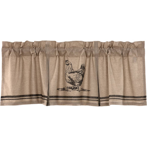 VHC-Brands-April-Olive-Farmhouse-Window-Sawyer-Mill-Charcoal-Valance-20x60-Khaki-Asphalt