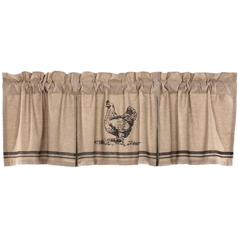 VHC-Brands-April-Olive-Farmhouse-Window-Sawyer-Mill-Charcoal-Valance-20x72-Khaki-Asphalt