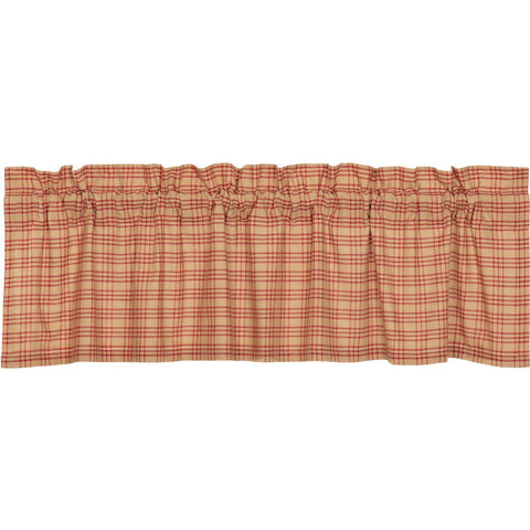 VHC-Brands-April-Olive-Farmhouse-Window-Sawyer-Mill-Red-Valance-16x60-Country-Red-Dark-Tan