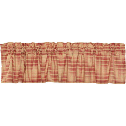 VHC-Brands-April-Olive-Farmhouse-Window-Sawyer-Mill-Red-Valance-16x72-Country-Red-Dark-Tan