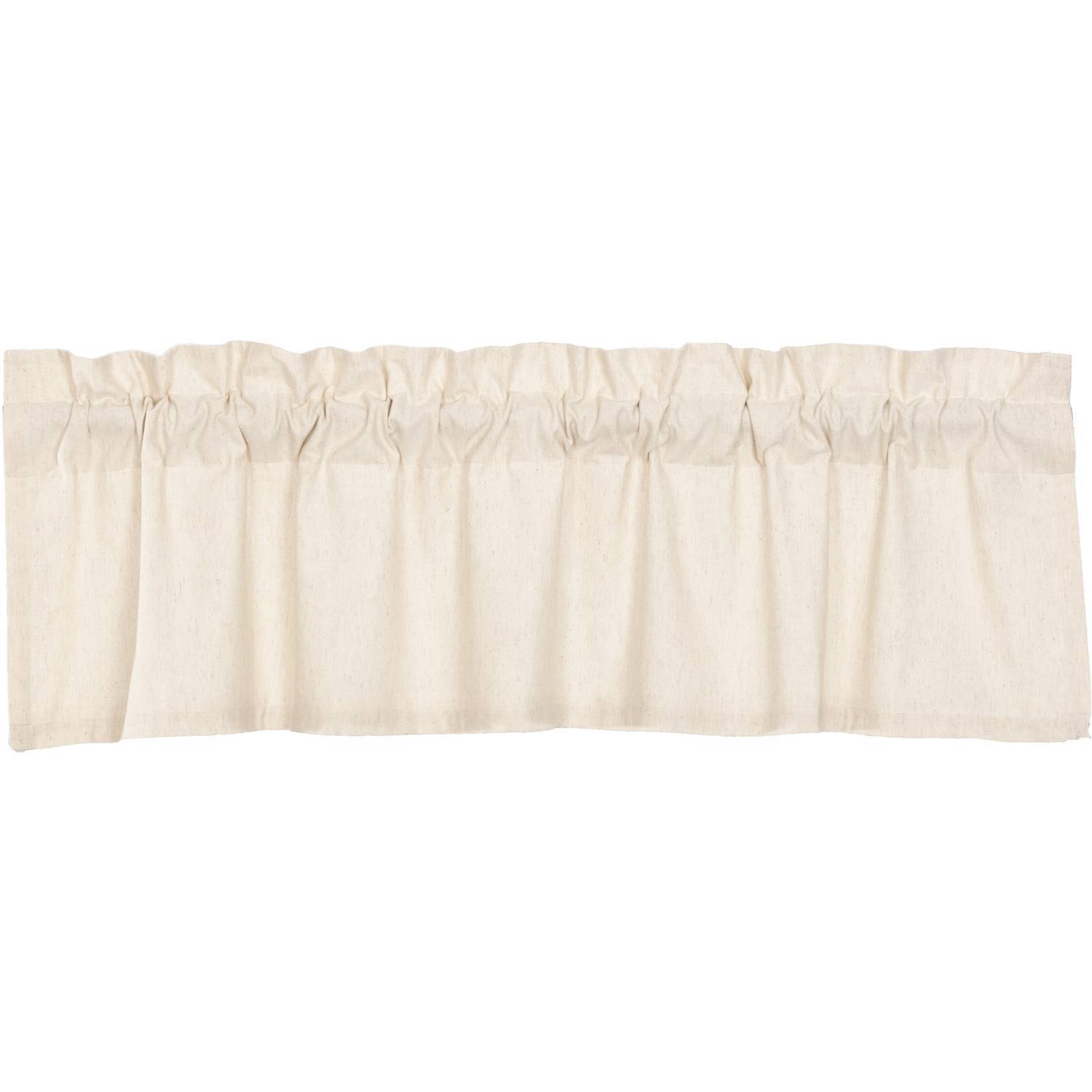 Simple Life Flax Natural Valance 16x60 The Bitloom Co