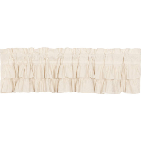 VHC-Brands-April-Olive-Farmhouse-Window-Simple-Life-Flax-Natural-Valance-16x72-Natural-Creme