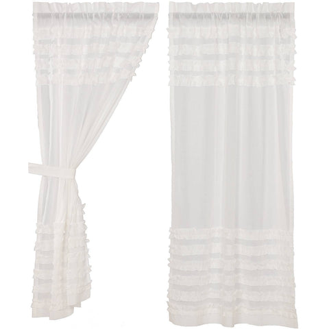 VHC-Brands-April-Olive-Farmhouse-Window-White-Ruffled-Sheer-Petticoat-Short-Panel-Set-63x36-Soft-White